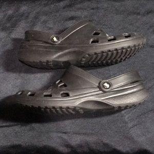Doggers Shoes - Doggers Men's sz 10-11 Black Sandals